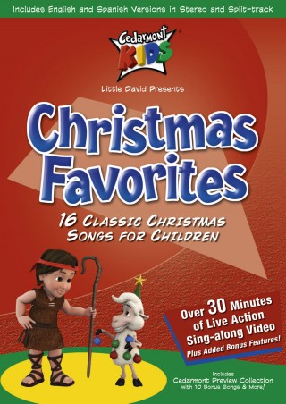 Cedarmont Kids Christmas Favorites Dvd